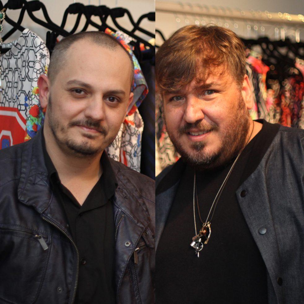 Giuliano Mazeti e Leonam Dantas